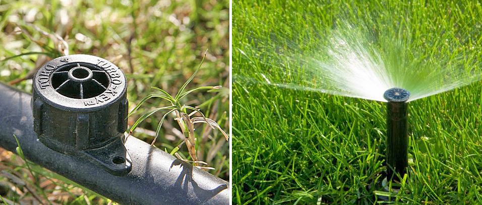 Sistema de riego para jardines empresa de jardiner a for Aspersores de riego para jardin
